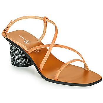 Shoes Women Sandals Vanessa Wu SD2226SM Orange
