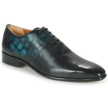 Shoes Men Brogue shoes Melvin & Hamilton LANCE 61 Black / Blue
