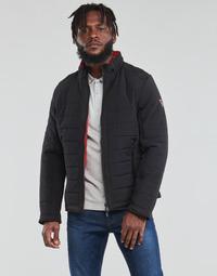 material Men Duffel coats Guess  Black / Orange