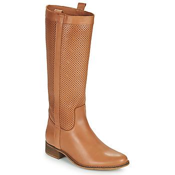 Shoes Women Boots Betty London ONEVER Cognac