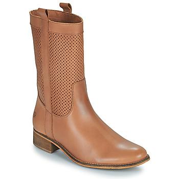 Shoes Women Boots Betty London ORYPE Cognac