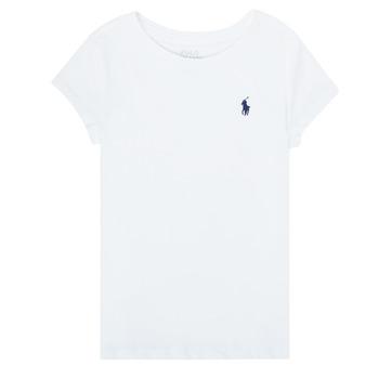 material Girl short-sleeved t-shirts Polo Ralph Lauren ZALLIE White