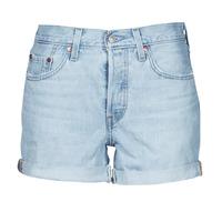 material Women Shorts / Bermudas Levi's 501 ROLLED SHORT Blue