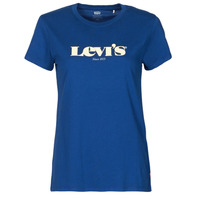 material Women short-sleeved t-shirts Levi's THE PERFECT TEE Blue