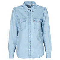 material Women Shirts Levi's ESSENTIAL WESTERN Cool / Out