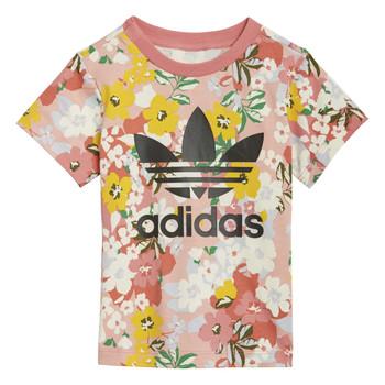material Girl short-sleeved t-shirts adidas Originals DREZZI Multicolour