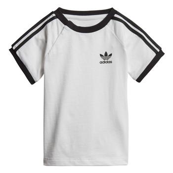 material Children short-sleeved t-shirts adidas Originals DV2824 White