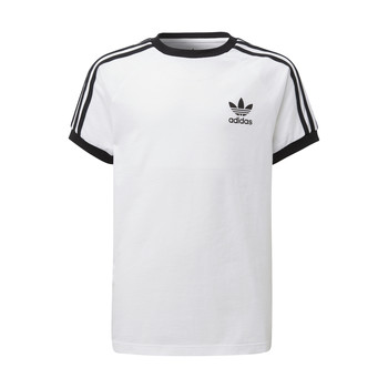 material Children short-sleeved t-shirts adidas Originals DV2901 White