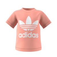 material Children short-sleeved t-shirts adidas Originals GN8176 White