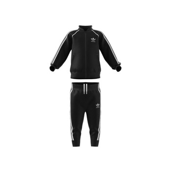 material Children Tracksuits adidas Originals GN8441 Black