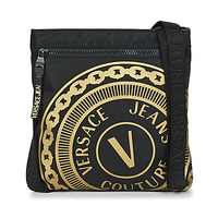 Bags Men Pouches / Clutches Versace Jeans Couture SOLEDA Black / Gold