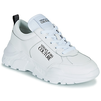 Shoes Men Low top trainers Versace Jeans Couture MINOTA White