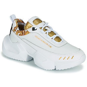 Shoes Men Low top trainers Versace Jeans Couture FILONE White / Gold