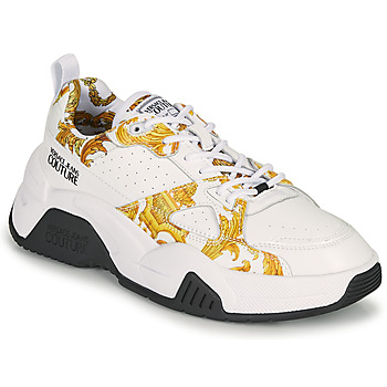 Shoes Women Low top trainers Versace Jeans Couture MINAFI White / Gold