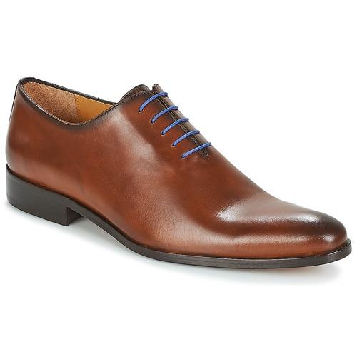 Shoes Men Brogue shoes Brett & Sons AGUSTIN Cognac