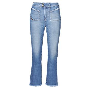 material Women bootcut jeans Diesel D-EARLIE-H Blue