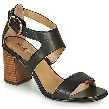 Shoes Girl Sandals JB Martin 1NAWELI Black / Grey