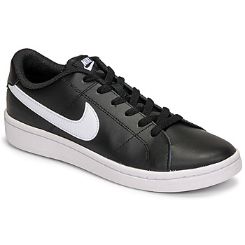 Shoes Men Low top trainers Nike COURT ROYALE 2 LOW Black / White