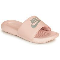 Shoes Women Sliders Nike VICTORI ONE BENASSI Pink / Silver