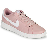 Shoes Women Low top trainers Nike COURT ROYALE 2 Pink / White