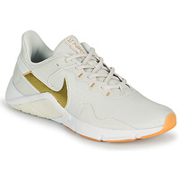 Shoes Women Multisport shoes Nike LEGEND ESSENTIAL 2 White / Gold