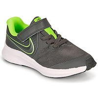 Shoes Boy Multisport shoes Nike STAR RUNNER 2 PS Grey / Green