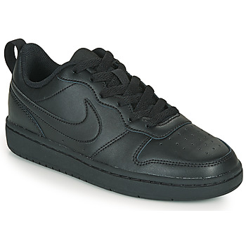 Shoes Children Low top trainers Nike COURT BOROUGH LOW 2 GS Black