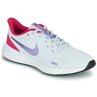 Shoes Girl Multisport shoes Nike REVOLUTION 5 GS Blue / Violet