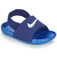 Shoes Boy Sliders Nike NIKE KAWA TD Blue