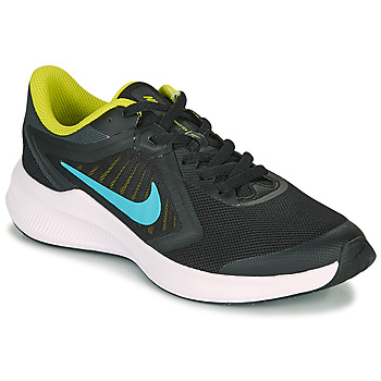 Shoes Boy Multisport shoes Nike DOWNSHIFTER 10 GS Black / Yellow