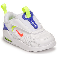 Shoes Children Low top trainers Nike AIR MAX BOLT TD White / Blue