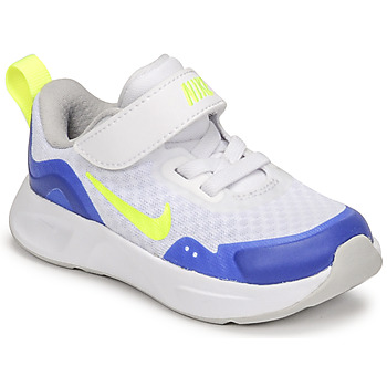 Shoes Children Multisport shoes Nike NIKE WEARALLDAY White / Blue / Green