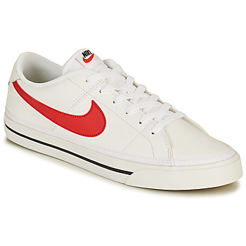Shoes Men Low top trainers Nike NIKE COURT LEGACY White / Red