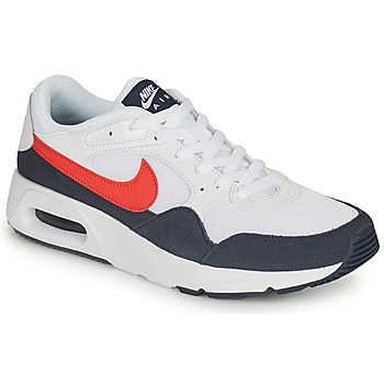 Shoes Men Low top trainers Nike NIKE AIR MAX SC White / Red / Blue