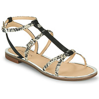 Shoes Women Sandals JB Martin 1GRIOTTES White / Black