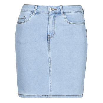 material Women Skirts Vero Moda VMHOT SEVEN Blue / Clear