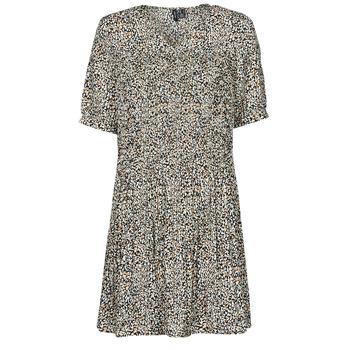 material Women Short Dresses Vero Moda VMELIN Beige