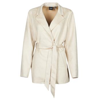 material Women Trench coats Vero Moda VMNAPOLI Beige