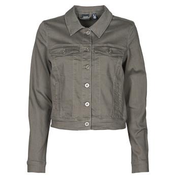 material Women Denim jackets Vero Moda VMHOTSOYA Kaki