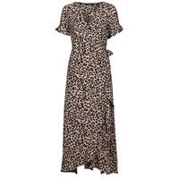material Women Long Dresses Vero Moda VMSAGA Beige