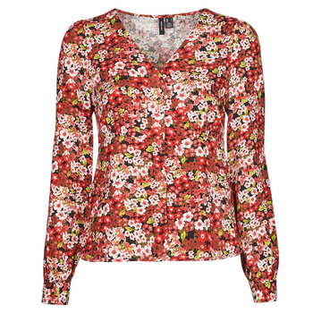 material Women Shirts Vero Moda VMSIMPLY EASY Red