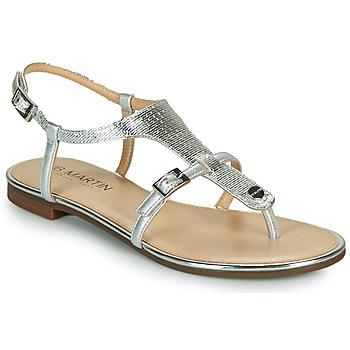 Shoes Women Sandals JB Martin 2GAELIA Silver