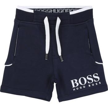 material Boy Shorts / Bermudas BOSS NOLLA Marine