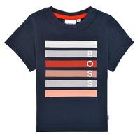 material Boy short-sleeved t-shirts BOSS ENOLITO Marine