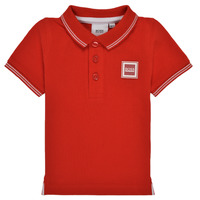 material Boy short-sleeved polo shirts BOSS J05846-997-C Red