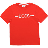 material Boy short-sleeved t-shirts BOSS ANTHENIO Red