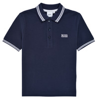 material Boy short-sleeved polo shirts BOSS TONNELA Marine