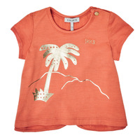 material Girl short-sleeved t-shirts Ikks XS10080-67 Orange