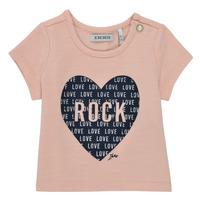 material Girl short-sleeved t-shirts Ikks XS10120-31 Pink
