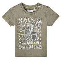 material Boy short-sleeved t-shirts Ikks XS10141-57 Kaki